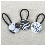 Bugalug 3 Pack Black/Multi Pony Loops