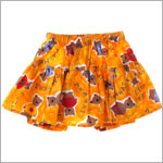 6m Clayeux Yellow Bear Skort