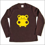 Colette Kids L/S Chocolate Randall Hippo Tee