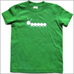 Colette Kids S/S Green Momo Caterpillar Tee