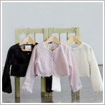 Z: Crayon Kids BLACK Knitted Wool Cardigan