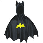 Creative Education Black Hooded Bat Cape