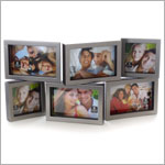 Cupecoy Home Fashions Multi Gallery Spinning Photo Frame *Holds 6 Photos*