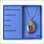 Ganz Three Generation Locket Necklace