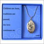Ganz Four Generation Locket Necklace