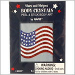 Ganz 4th Of July Body Crystals *Many Styles!*