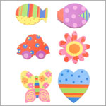 Ganz *Cute & Sassy* Wall Decor Butterfly Design