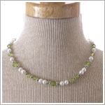 : Ganz August Birthstone Necklace