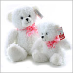 Ganz White *Hug Me!* Tiffany Bear