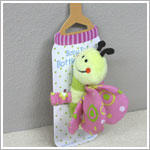 Ganz Baby Pals Bottle Hugger - Butterfly Rattle