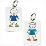 : Ganz My Kids Personal Tags *Boys Blank*
