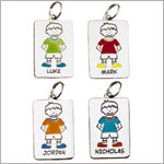 : Ganz My Kids Personal Tags *Boys Names Begining w/ D - I*