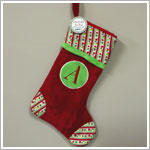 Ganz Monogram Holiday Stocking