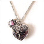 Ganz Initially Yours Photo Locket Necklaces