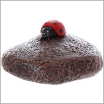 Ganz Lucky Little Ladybug Stone *Many Colors*