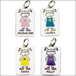 : Ganz My Kids Personal Tags *Girls Names Begining w/ K - N*
