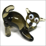 Ganz *Black Cat* Mini Glass Animal World