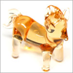 Ganz *Horse*  Mini Glass Animal World