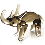 Ganz *Rhino* Mini Glass Animal World