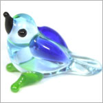 Ganz *Blue Swallow* Mini Glass Animal World