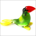 Ganz *Tucan* Mini Glass Animal World