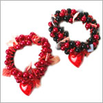 Ganz Light Up Heart Scrunchie *Two Colors!*