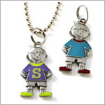 Boys Initial Charms
