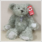 "Ganz 12"" Murdoch Bear - Light Grey"
