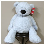"Ganz 16"" Tubby Tummy Bear - Light Blue"