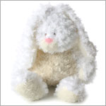 Ganz White/Cream BELLIFULS Bunny *Rattles*