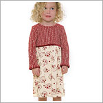 Size 6m II: Geo-Rags L/S Sweater Top Dress