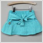 Girl and Company *Cotton Candy* Aqua Skort