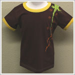 GT Brown Short Sleeve Lizard Tee