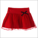 GT Red Skirt w/ Netting
