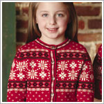 : Hartstrings Girls/Moms Christmas Sweater