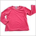 7y II: Hartstrings Hot Pink L/S Velour Top