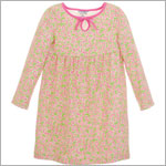 Hartstrings Green & Pink Paisley Knit Dress w/ Diaper Cover