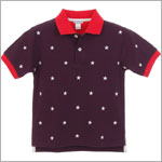 II: Hartstrings Navy American Flag Polo Tee