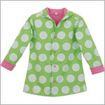 Hartstrings Green Polka Dot Rain Coat