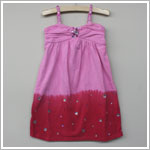 Haven Girl Pink/Raspberry Tank Dress With Jewel Accents