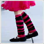 Z: Huggalugs Legruffles - Dance Dreams Stripe