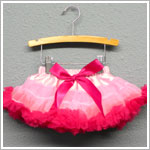 Z: Huggalugs Smitten - Light Pink/Bubblegum Newborn Pettiskirt