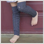 Z: Huggalugs Cable Knits - Vine Grey