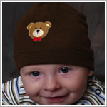 Z: Brown Bear Beanie Hat