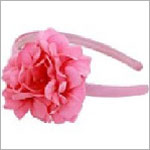 Z: Candy Pink Geranium Hard Headband