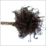 Z: Curly Marabou Flowerette Burst Headband *Many Colors!*