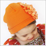 Z: Garden Geranium Orange Hat