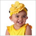 Z: Yellow Rose Headband