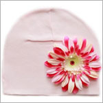 Z: Pale Pink w/ Power of Pink Daisy Hat