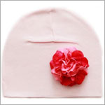 Z: Pale Pink w/ Power of Pink Geranium Hat